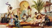 unknow artist, Arab or Arabic people and life. Orientalism oil paintings 606