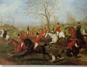 unknow artist, Classical hunting fox, Equestrian and Beautiful Horses, 235.