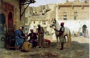 unknow artist, Arab or Arabic people and life. Orientalism oil paintings 98