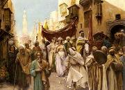 unknow artist, Arab or Arabic people and life. Orientalism oil paintings  507