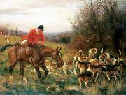 unknow artist, Classical hunting fox, Equestrian and Beautiful Horses, 199.