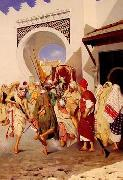 unknow artist, Arab or Arabic people and life. Orientalism oil paintings  536