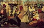 unknow artist, Arab or Arabic people and life. Orientalism oil paintings 118