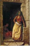 unknow artist, Arab or Arabic people and life. Orientalism oil paintings 611