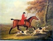 unknow artist, Classical hunting fox, Equestrian and Beautiful Horses, 105.