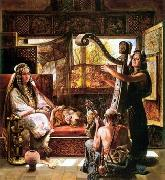 unknow artist, Arab or Arabic people and life. Orientalism oil paintings  530