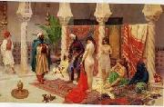unknow artist, Arab or Arabic people and life. Orientalism oil paintings 619
