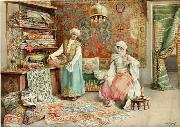 unknow artist, Arab or Arabic people and life. Orientalism oil paintings 580