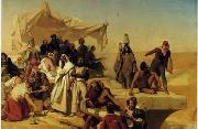 unknow artist, Arab or Arabic people and life. Orientalism oil paintings 85