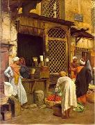 unknow artist, Arab or Arabic people and life. Orientalism oil paintings  489