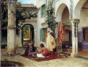 unknow artist, Arab or Arabic people and life. Orientalism oil paintings 91