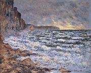 Claude Monet, By the Sea at Fecamp