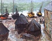 Claude Monet, Boats on the Beach