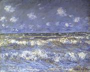 Claude Monet, A Stormy Sea