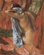 Edgar Degas, bathing lady