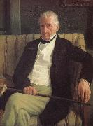Edgar Degas, Artist-s father