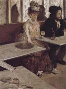 Edgar Degas, absinth