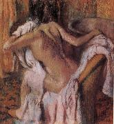 Edgar Degas, After bath