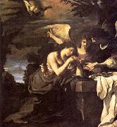 GUERCINO, Magdalen and Two Angels