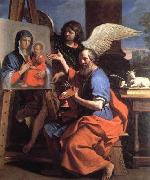 GUERCINO, St Luke Displaying a Painting of the Virgin