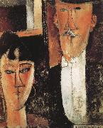 Amedeo Modigliani, Bride and Groom