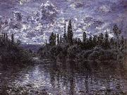 Claude Monet, Bend in the Seine,near Vetheuil