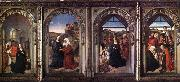 Dieric Bouts, Triptych of the Virgin
