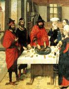 Dieric Bouts, The Feast of the Passover