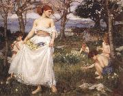 John William Waterhouse, A Song  of Springtime