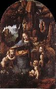 LEONARDO da Vinci, Madonna in the cave