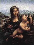 LEONARDO da Vinci, Madonna with the Yarnwinder after 1510