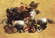LEONARDO da Vinci, Battle of Anghiari