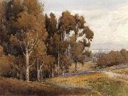 unknow artist, A Grove of Eucalyptus in Spring