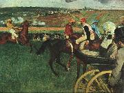 Edgar Degas, At the Races