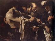 GUERCINO, return of the prodigal son