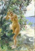 Anders Zorn, After the Bath,