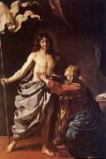 GUERCINO, Apparition of Christ to the Virgin