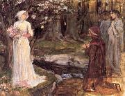 John William Waterhouse, Dante and Beatrice