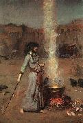 John William Waterhouse, Magic Circle