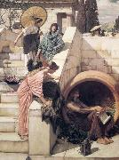 John William Waterhouse, Diogenes