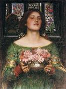 John William Waterhouse, Gather Ye Rosebuds While Ye May...