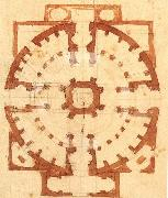 Michelangelo Buonarroti, Plan for a Church