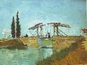 Vincent Van Gogh, Bridge at Arles