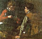 Caravaggio, card-players, c