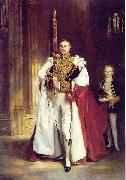 John Singer Sargent, carrying the Sword of State at the coronation of Edward VII of the United Kingdom