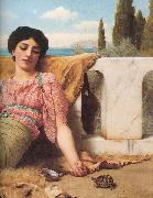 John William Godward, A Quiet Pet