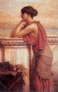 John William Godward, By the Wayside