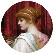 John William Godward, Chloris  A Summer Rose