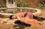 John William Godward, Dolce far Niente or Sweet Nothings