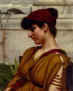 John William Godward, A Classical Beauty In Profile
